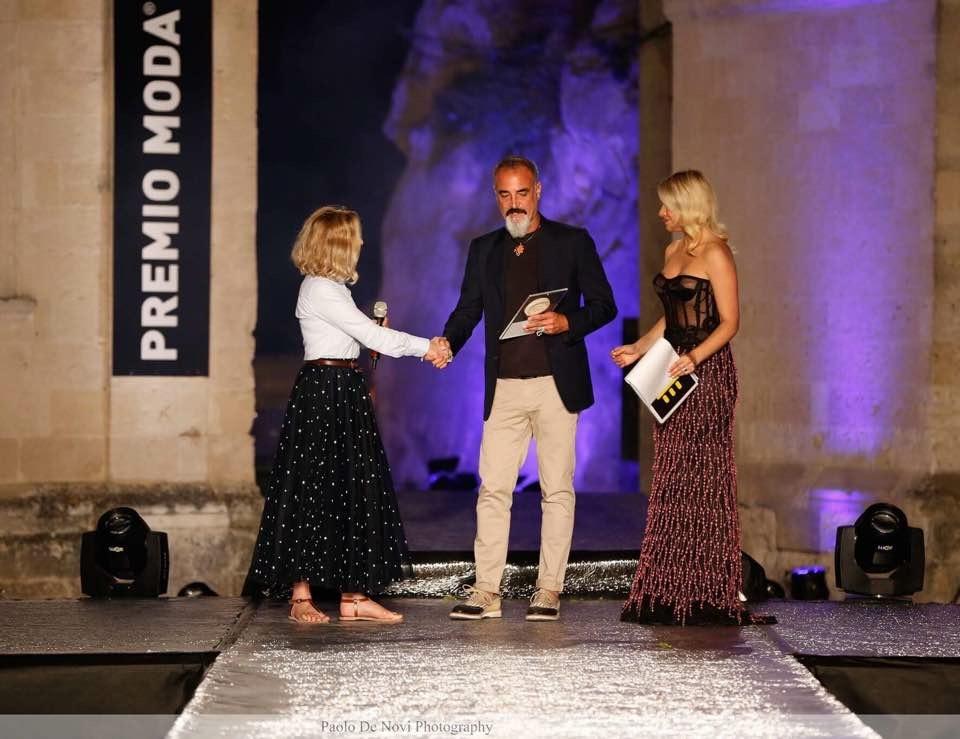 """Nicola Paparusso - Premio Moda """"Città dei Sassi"""" 2017"""